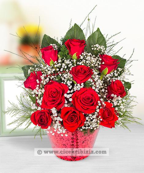 Aşk Kırmızısı Güller