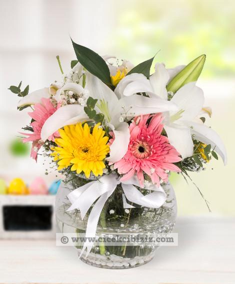 Beyaz  Lilyum Çiçeği Aşkı