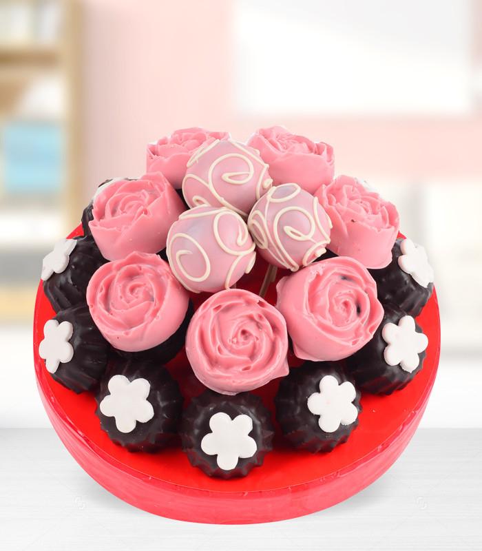 Çikolatalı Çiçek