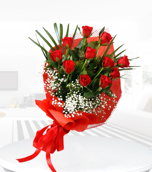 Kırmızı Güllerin Cazibesi