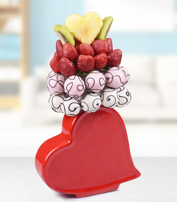 Kalp Vazoda Meyve Kek