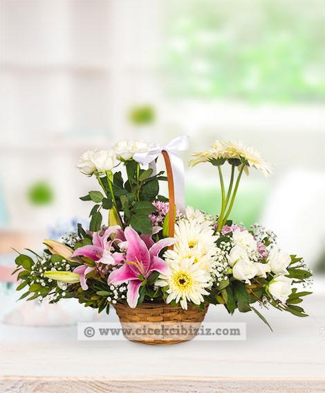 Lilyum Çiçeği  Aranjmanı