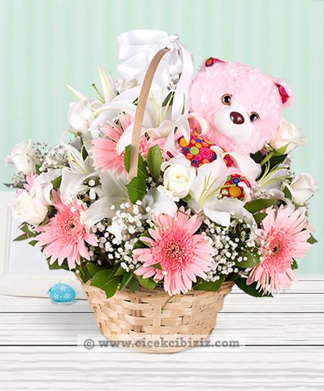 Pembe Dünyam Gerbera Çiçeği