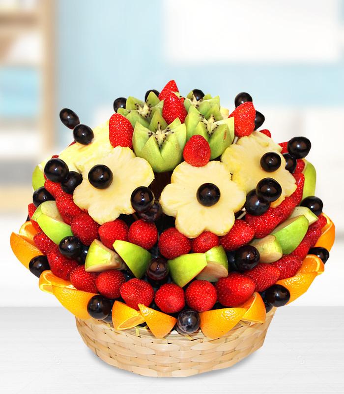 Sepette Meyve Aranjmanı