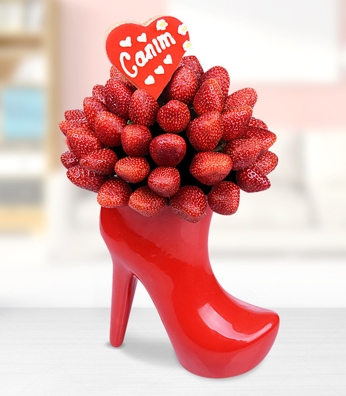 Topuklu Ayakkabı Meyve Buketi